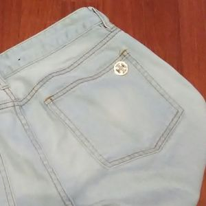 Tory Burch Jeans - Tory Burch jeans size 9 super skinny light wash